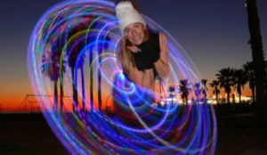 LED hooping can liven up your event!