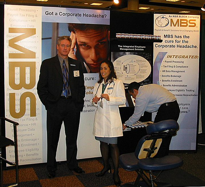 Event and Trade Show Chair Massage FAQ Your Questions