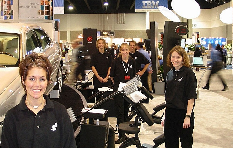 Chair Massage For Your Trade-Show or Special Event